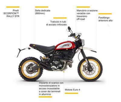 Immagine di Moto Ducati Scrambler  800 Desert