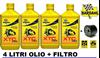 Immagine di kit tagliando olio xtc c60 Bardhal e filtro olio kawasaki hf 204